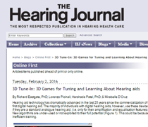 hearing journal
